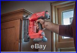 Nail Gun Brushless Cordless M18 FUEL 18 Volt Lithium Ion 18 Gauge Brad Nailer
