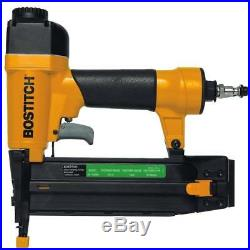 Nail Gun & Compressor Kit Brad Nailer HeavyDuty Stapler Combo OIL FREE LOW NOISE