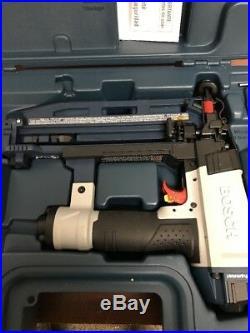 New Bosch Finishing Nail Gun Air Tool 1 In 2-1/2 In x 16 Gauge Slim Strip