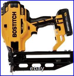 New Bostitch Bcn662d1 20 Volt Max Cordless 16ga Framing Nailer Kit Sale