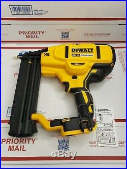 New DEWALT 20V MAX 18 Gauge Cordless Brad Nailer (Tool Only) DCN680B