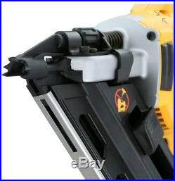 New DEWALT 20V Max XR Cordless BRUSHLESS Dual Speed Framing Nailer Nail Gun