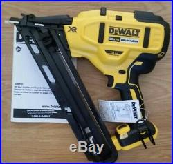 New DeWalt 20v DCN650B Cordless Brushless 15ga Finish Nailer Nail Gun DCN650