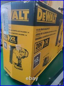 New DeWalt DCN680D1 20v Brushless 18 Gauge Brad Nailer Kit (E10011632)