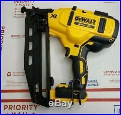 New Dewalt DCN660B Cordless 16 Gauge Angled Finish Nailer (OPEN BOX)(TOOL ONLY)