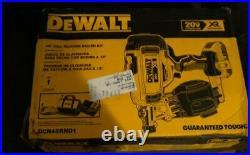 New Dewalt Dcn45rnd1 20 Volt Cordless Roofing Nailer Tool Kit