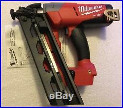 New Milwaukee Fuel 2742-20 M18 18V 16-Gauge Angled Finish Nailer (Bare Tool)