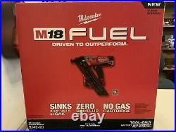 New NO BOX Milwaukee 2743-20 M18 FUEL 15 Ga Brushless Finish Nailer Nail Gun 15