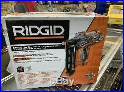 New Ridgid 16 guage Straight Nailer Brushless Cordless 18V R09892B