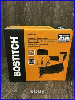 New Stanley Bostitch N66c-1 Pneumatic Angled Siding Coil Nailer Nail Gun Kit