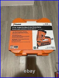 Paslode 16GA Angled Cordless Lith-Ion Finish Nailer IM250A-Li BRAND NEW