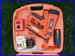 Paslode 16 Gauge Ga Straight Finish Nailer Nail Gun Kit Set 900600 Free Pickup