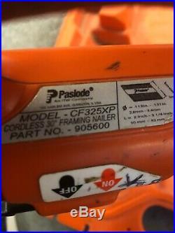 Paslode 30 Degree CF325XP Cordless Lithium-Ion Framing Nail Gun With Case