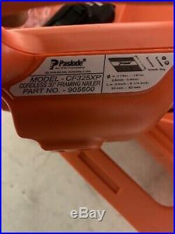 Paslode 905600 Cordless CF325XP Lithium-Ion 30° Framing Nailer Nail Gun Tool
