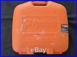 Paslode Cordless Finish Nailer Nail Gun Case, Battery, Charger & Instructions