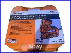 Paslode IM250A-LI 16-Gauge Cordless Angled Finish Nailer(BRAND NEW) 902400