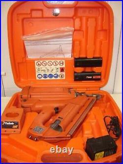 Paslode IM350 1st FIX FRAMING NAILER KIT GAS NAIL GUN. NEW BATTERY