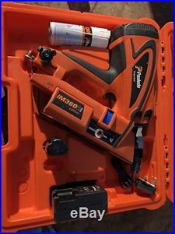 Paslode Im360 Cordless Frame Nail Gun Nailer First Fix 1nd Gas Finish