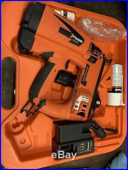Paslode Im65 Cordless Brad Nail Gun Nailer Second Fix 2nd Gas Finishing Lion 9