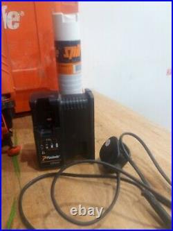Paslode Im65 Lithium 2nd Fix Nail Gun Kit. JUST BEEN PROFESSIONALLY SERVICED