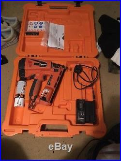 Paslode Im65a F16 2nd Second Fix Angled Brad Nail Gun Nailer
