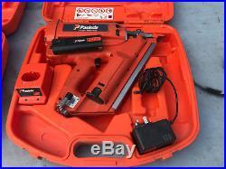 Paslode Impulse IM350/90 CT First Fix Framing Nail Gun Gas Nailer