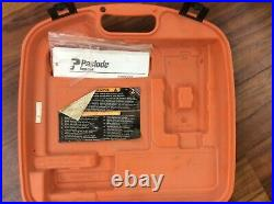 Paslode Impulse IMCT 900420 Cordless Utility Framing Nailer in case with extras