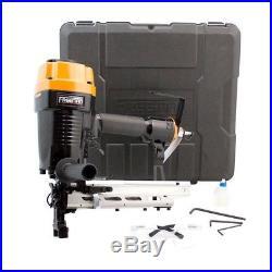 Pneumatic Fencing Stapler 9-Gauge Staple Nail Gun Fence Nailer Depth Adjustable