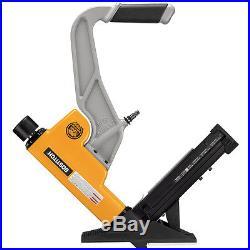 Pneumatic Flooring Nailer Stapler Nail Gun Set Home Yard Woodworking Hand Tool