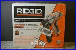 RIDGID Nail Gun Brad Nailer 18 Volt 18 Gauge 2-1/8 Brushless Hyperdrive