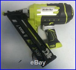 RYOBI 18V ONE+ P330 Cordless AirStrike 15Ga FINISH NAILER Angled (Bare Tool) O