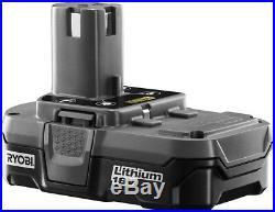 RYOBI Cordless Straight Finish Air Nailer Electric 18-V 16-Gauge Battery Charger