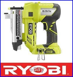RYOBI ONE+ 18v AIR STRIKE 23 GAUGE CORDLESS PIN NAILER P318 + BATTERY & CHARGER