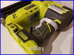 RYOBI P320 18-Gauge Cordless Brad Nailer 18-Volt ONE+ AirStrike with Battery