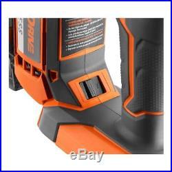 Ridgid Brad Nailer Air Nail Gun Cordless Brushless Jam-free 18V 18-Gauge 2-1/8