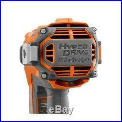 Ridgid Hyperdrive 18V Brushless 16 Gauge 2 1/2 Inch Straight Finish Nailer