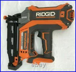 Ridgid R09892 16 guage Straight Nailer Nail Gun Brushless Cordless 18V, GR