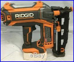 Ridgid R09892 16 guage Straight Nailer Nail Gun Brushless Cordless 18V, ZX505