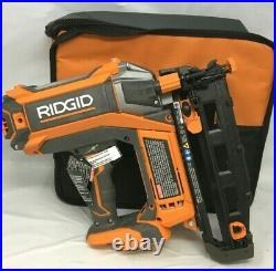 Ridgid R09892 16 guage Straight Nailer Nail Gun Brushless Cordless 18V, ZX509