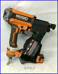Ridgid R175RNF 1-3/4 in. Pneumatic Coil Roofing Nailer Nail Gun, ZX158