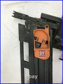 Ridgid R350RHF Nail Gun 21 Degree 3-1/2 in. Round-Head Framing Nailer G