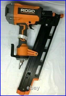 Ridgid R350RHF Nail Gun 21 Degree 3-1/2 in. Round-Head Framing Nailer, L. N
