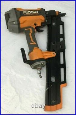 Ridgid R350RHF Nail Gun 21 Degree 3-1/2 in. Round-Head Framing Nailer VG