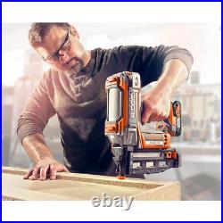 Ridgid Straight Finish Nailer Tool Only Cordless Brushless Motor 18V 2-1/2 in