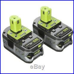 Ryobi 18-Volt AirStrike Cordless Brad Nailer plus 2 Lithium Ion Batteries