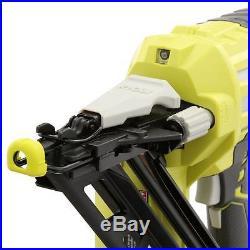 Ryobi Cordless Angled Nailer Nail Gun 18 Volt ONE+ Airstrike 15-Gauge Tool Only
