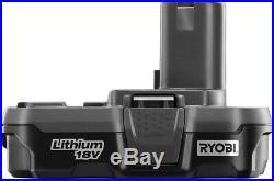 Ryobi Finish Nailer Kit Cordless Straight Air Nail Gun 18V Lithium-Ion 16-Gauge