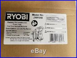 Ryobi P318 18-Volt ONE+ AirStrike 23-Gauge Cordless Nailer MANUFACTURER REFURB