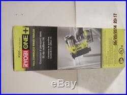 Ryobi P320 18Gauge ONE+ Cordless 2Brad Nailer with5001.25 Nails BRAND-NEW IN BOX