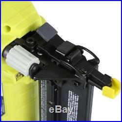 Ryobi P320 Cordless Nail Gun Brad Nailer 18 Gauge Push Contact Actuated Trigger